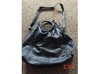 Brand new Designer Bugle Fiorentine Black Leather