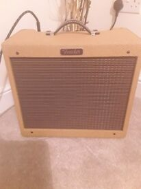 FENDER TWEED BLUES JUNIOR VALVE AMP MINT!