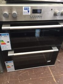 Logik Built in Under Electric Double Oven New and Unused