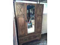 Oak wardrobe/furniture