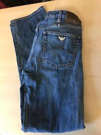 32 leg 32 waist Armani jeans in great condition