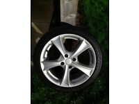 "17"" alloy wheels Peugeot Citroen"