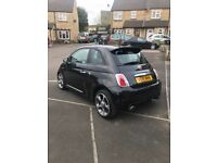 Abarth 500, New MOT, 2 owners, new front tyres. 1.4 turbo petrol manual with upgraded alloy wheels