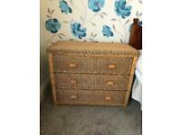 Wicker / Rattan bedroom furniture set