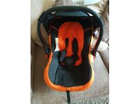 Risus Car Seat Group 0+