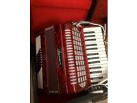 Chanson 60 bass Accordion in original case