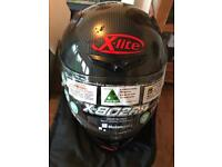X-lite x802RR ultra carbon puro red race helmet size XL