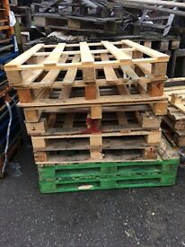 Wooden pallets /fire wood. FREE