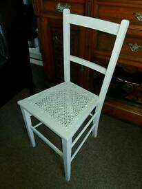 Vintage small wooden chair