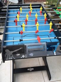 Table Football, 42in x 24in playing surface.