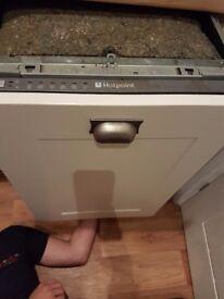 Free integrated dishwasher