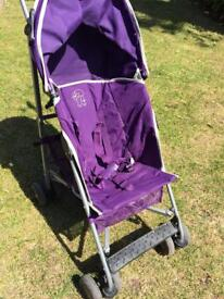 Lightweight pushchair pram stroller