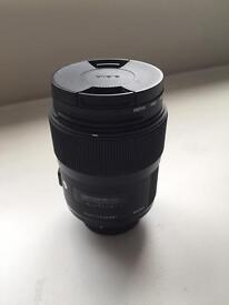 Sigma 35mm 1.4 Art (Nikon Mount)