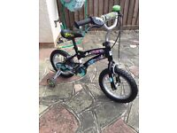"Can deliver NEW Ben 10 boys bike bicycle with stabilisers 14"" wheel and bell Pet & smoke free home"
