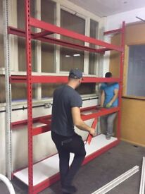 SHELVING HEAVY DUTY IDEAL FOR SHOP WAREHOUSE AND GARAGE FOR EXTRA SPACE