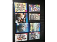 PS4 + Switch games (Octopath, God of War)