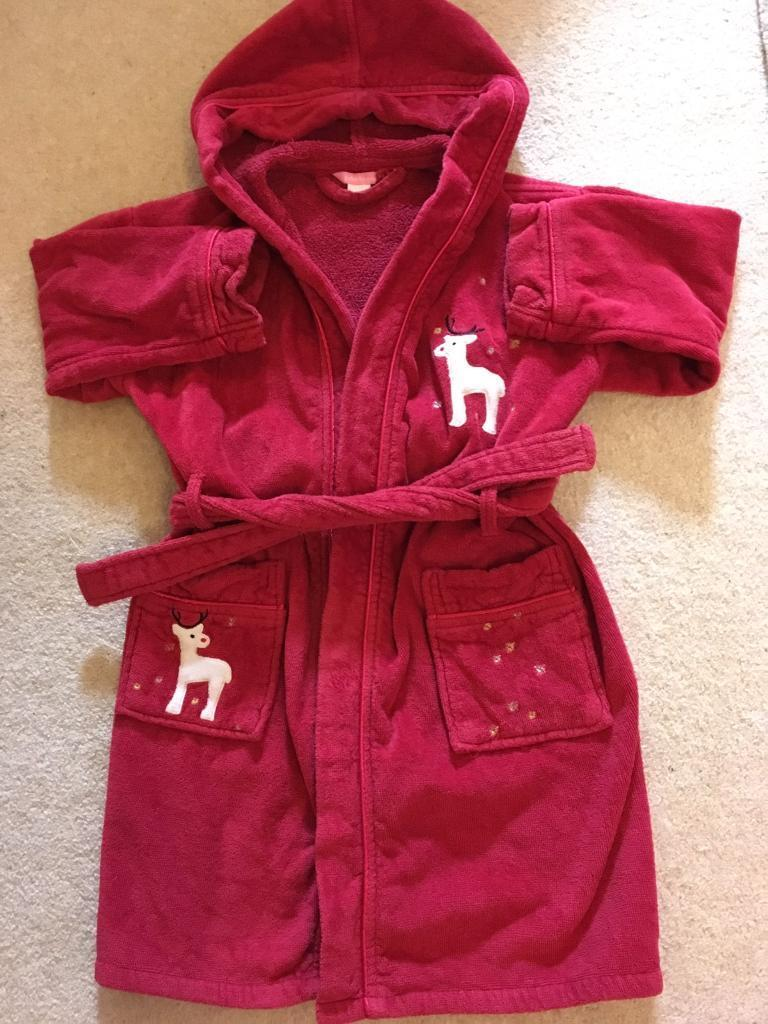 John Lewis Christmas/winter child's dressing gown