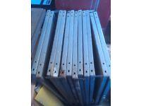 Dexion racking metal shelves
