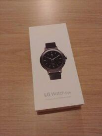 LG Watch Style Titan W270 Smartwatch - Brand new and sealed - Xmas Present