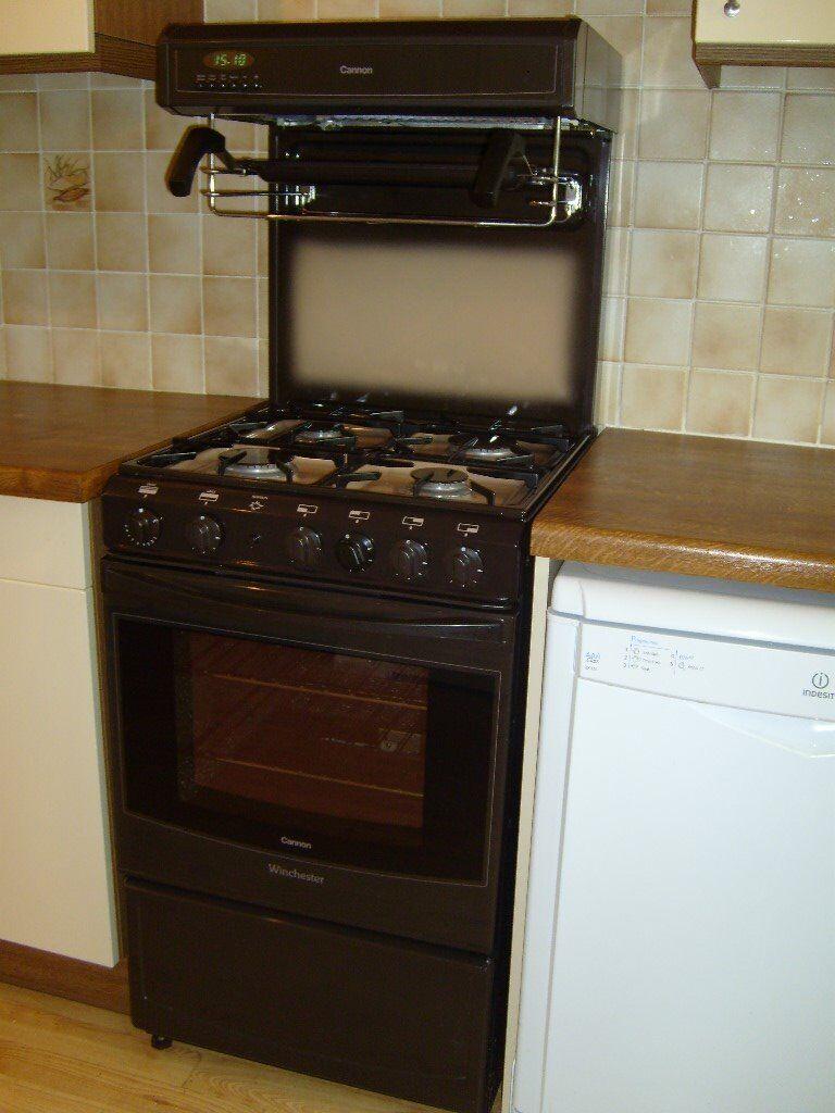 cannon winchester freestanding gas cooker single oven. Black Bedroom Furniture Sets. Home Design Ideas