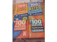 100 Maths and English Lessons