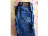 Superdry jeans 29W 32L - carpenter style