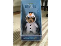 Oleg as Olaf from frozen meerkat toy and collectible
