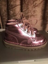 Uk Size 6 Toddler Girl Pink Kickers