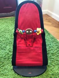 BabyBjorn Bouncer & wooden bar toy reduced to £55