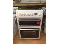 *** Hotpoint white 60cm ceramic cooker***Free Delivery**Fitting**Removal