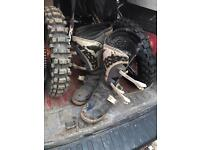 Size 10 motocross motorbike boots