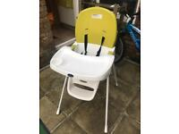 Babystart high chair £20