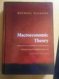 Macroeconomic Theory, Michael Wickens