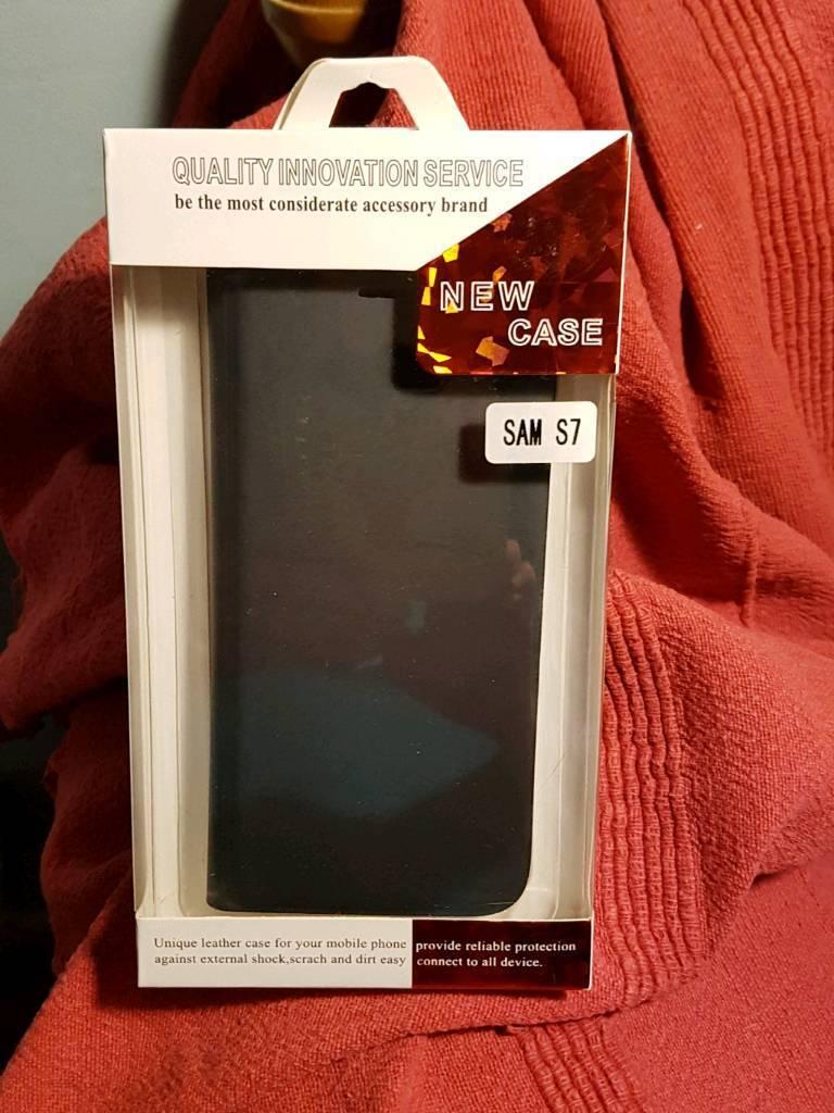 Samsung 7 leather phone case