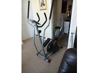 This is a roger black cross trainer with seat ,computer. Trying to save space thus surplus to needs.