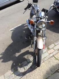 Yamaha entricer /ybr 125 cc motorcycle