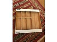 Cutlery tray VARIERA Bamboo