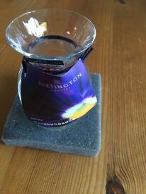 Dartington petite pansy vase