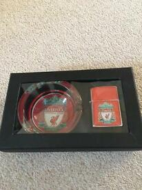LFC - ashtray + lighter
