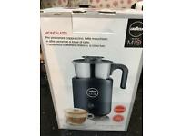 Lavazza Electric Milk Frother Ideal for Coffee, Cappuccino, Latte