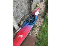 Canoe Kayak suitable for younger person (<15), with paddle - £150