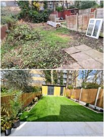 Gardening & Landscaping services/Patios /Driveways/Brickwork/Fencing/Natural and artificial grass