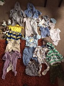 Big bundle baby boy clothes 0-6months