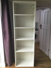 Ikea Shelving Unit in white