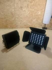 LEDJ stage wash LED light
