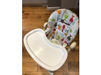 Cosatto high chair for sale.