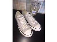 Men's Grey Converse All Star Trainers, uk 7