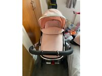 Mothercare Journey travel system in blush
