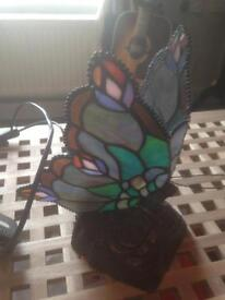Medium sized Tiffany lamp of a butterfly (open to offers))