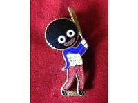 An Original Robertsons Pre-War Golly Cricketer Badge/Brooch - MILLER c1920s/30s